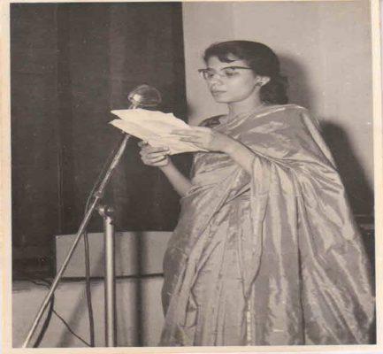 1960 –Women's Hostel Day General Sec speech-Mona