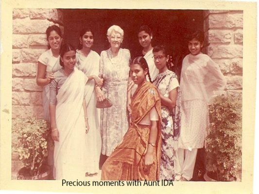 Class with Aunt Ida